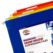 Premier Stationery Foolscap Coloured Suspension Files